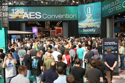 AES 123rd Convention, New York